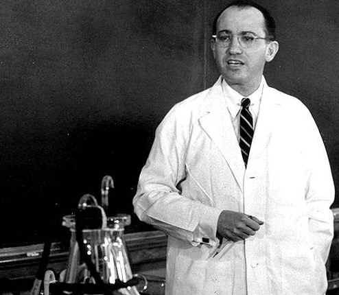 Picture of Dr Jonas Salk