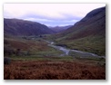 Looking back down the valley towards Seathwaite