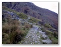 A nice view of part of the rocky path - it\'s not all this easy\!